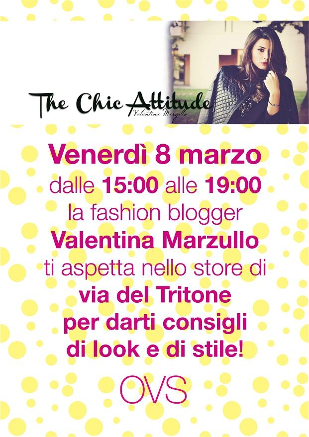 Valentina Marzullo personal shopper OVS Roma S