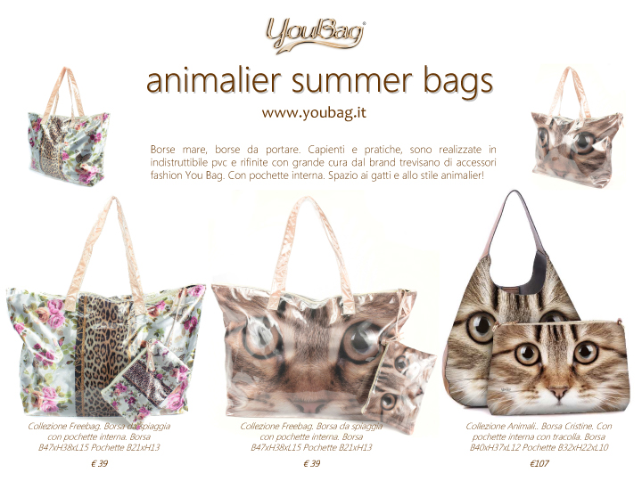 animalier summer bags