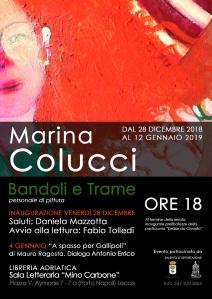 Locandina Bandoli e Trame Marina Colucci